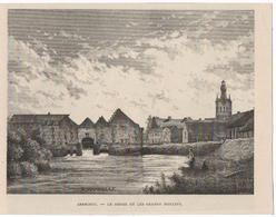AERSCHOT : Le Démer Et Les Grands Moulins - Estampes & Gravures