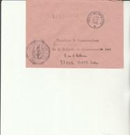 L 3 -  Enveloppe Gendarmerie De L'Air D'ACHERN     Avec Cachet Poste Aux Armées  - - Cachets Militaires A Partir De 1900 (hors Guerres)
