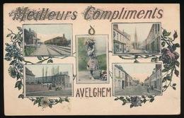 AVELGEM  MEILLEURS COMPLIMENTS D'AVELGHEM - Avelgem