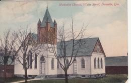 Vintage 1908 - Danville Quebec Que. - Methodist Church - Water Street - Written - VG Condition -  2 Scans - Quebec