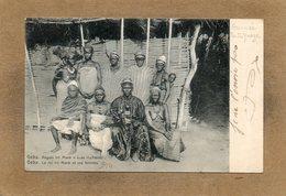 CPA - GUINE-BISSAU-PORTUGUEZA - GEBA - Regulo Iro Mané - Le  Roi Iro Mané Et De Ses Femmes En 1907 - Guinea-Bissau