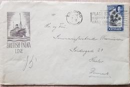 Ceylon Denmark British India Line - Ceylon (...-1947)