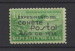 CUBA .  YT  PA  N° 31  Neuf *  1939 - Poste Aérienne