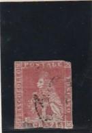 ITALIE ---  DUCHE --- N° 4 Rouge - Côte 65€ - Italie