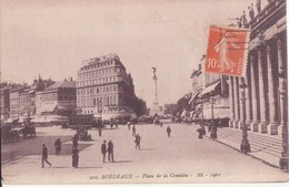 CPA -  200. BORDEAUX - Place De La Comédie - Bordeaux