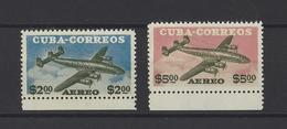 CUBA .  YT  PA  N° 118/119  Neuf **  1955 - Poste Aérienne