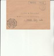 L 3 -  Enveloppe Gendarmerie De L'Air CHARTRES     Avec Cachet CHARTRES  AIR - Cachets Militaires A Partir De 1900 (hors Guerres)