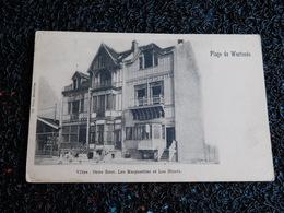 Plage De Westende, Villas : Onze Rust, Les Marguerites Et Les Bluets, Non Circulée   (Y6) - Westende