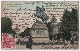 POLAND LWOW LEMBERG Pomnik Sobieskiego - Poland