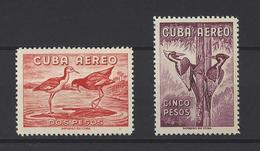 CUBA .  YT  PA  N° 202B-202C  Neuf *  1960 - Poste Aérienne