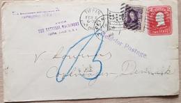 USA Denmark 1908 - United States