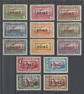 COSTA RICA .  YT  PA  N° 92/104  Neuf *  1945 - Costa Rica