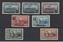 COSTA RICA .  YT  PA  N° 47/53  Neuf *  1941 - Costa Rica