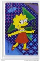 Kinder Ferrero The Simpson Special Card 6 - Kinder & Diddl