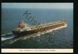 SHELL Tanker S.s. Latia [AA35 5.072 - Bateaux