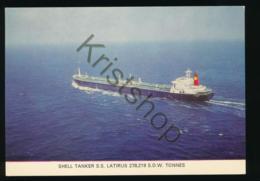 SHELL Tanker S.s. Latirus [AA35 5.074 - Bateaux