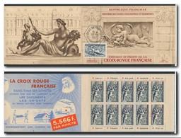 FRANCE 1952 Carnet Croix-Rouge N° 2001 ** Neuf Sans Charnière MNH Couverture Avec YT 938a Oblitérée Versailles 13/12/52 - Croix Rouge