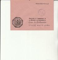 L 3 -  Enveloppe Gendarmerie De L'Air  LUXEUIL    Avec Cachet LUXEUIL AIR - Cachets Militaires A Partir De 1900 (hors Guerres)