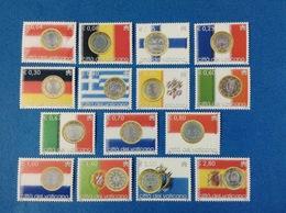 2004 VATICANO FRANCOBOLLI NUOVI STAMPS NEW MNH** - L' Euro Serie Ordinaria - - Vaticano