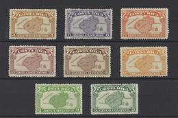 COSTA RICA .  YT  N° 164/171  Neuf *  1936 - Costa Rica
