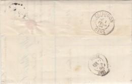 FACTURE NOILLY-PRAT MARSEILLE 1904- POUR CASTELBIEL CACHET CAZAUBON GERS - 1900 – 1949