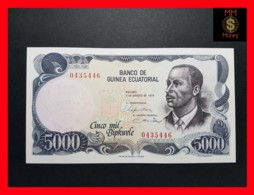 EQUATORIAL GUINEA 5.000 Bipkwele 3.8.1979  P. 17   UNC - Equatoriaal-Guinea