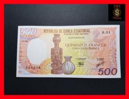 EQUATORIAL GUINEA 500 Francos 1.1.1985  P. 20  UNC - Aequatorial-Guinea