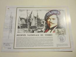 1er JOUR.DOCUMENT PHILATÉLIQUE C.E.F. - JOURNÉE NATIONALE DU TIMBRE. 1983. Oblitéré Le 26/02/1983. - Other