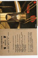 1984 Caisse D'epargne De MACON Calendrier Ecureuil Sablier Et Foulard Belem - Kalenders