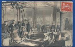 PONT-sur-SAULX    Intérieur Des Ateliers   Animées   écrite En 1912 - France