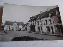 Carte De La Place De L'eglise  De Caro  Morbihan - Frankreich