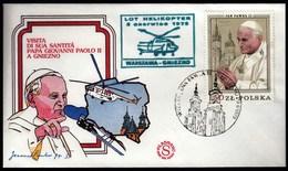 Poland 1979 / Visit Of Pope John Paul II, Papa / Warszawa - Gniezno, Helicopter Flight - Papas