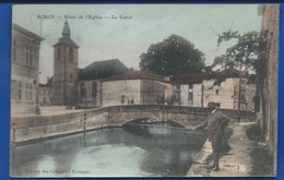 SORCY    Le Canal       Animées       écrite En 1913 - France