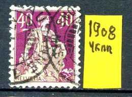 SVIZZERA - HELVETIA - Year 1908 - Traveled - Viaggiato - Vojagè - Gereist. - Suiza