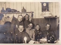 Photo Janvier 1917 ZIMMERBACH (près Munster) - Dernier Jour Au Lager Protzkasten, Camp Allemand (A205, Ww1, Wk 1) - France