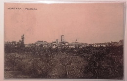 LOMBARDIA - PAVIA - MORTARA PANORAMA Formato Piccolo Viaggiata Nel 1915 - Condizioni Buone Euro 7,5 - Pavia