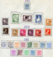 11205  BELGIQUE  Collection Vendue Par Page°/*  N° 841/59    1951-52  TB - Belgique