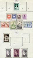 11206  BELGIQUE  Collection Vendue Par Page*/°  N° 865, 868/76, 879   1951-52  TB - Belgique