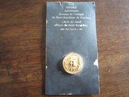REPRODUCTION DE SCEAU DE 1318 ANDRE APOTHICAIRE HOMME DE LABBAYE DU SAINT SEPULCHRE DE CAMBRAI - Francobolli