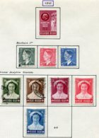 11208  BELGIQUE  Collection Vendue Par Page°/*  N° 908/16   1953  TB - Belgique