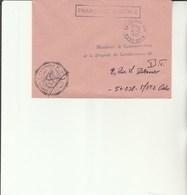L 3 -  Enveloppe Gendarmerie De L'Air  COLMAR    Avec Cachet  COLMAR      AIR - Cachets Militaires A Partir De 1900 (hors Guerres)