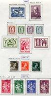 11213  BELGIQUE  Collection Vendue Par Page°/*  N° 996/1010  1956-58 TB - Belgique