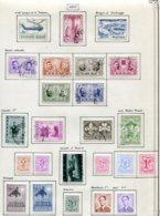11214  BELGIQUE  Collection Vendue Par Page°/*  N° 1011/29  1957  TB - Belgique