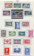 11216  BELGIQUE  Collection Vendue Par Page*/°  N° 1047/65  1958   TB - Belgique