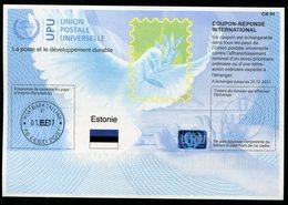 ESTONIE  Coupon Réponse International / International Reply Coupon - Estonie
