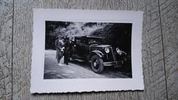 Automobile Renault Prima 4 Voiture Ancienne Larmignat Photo Chatellerault Early Car - Automobiles