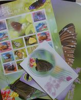 Butterflies Papillons Schmetterlinge China Taiwan Presentation Pack / ** MNH - Schmetterlinge