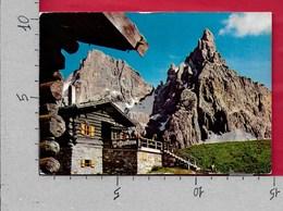 CARTOLINA VG ITALIA - Passo Rolle - Baita Segantini - 10 X 15 - ANN. 1974 - Trento