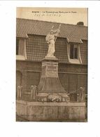Cpa ANGRES Monument Aux Morts Pour La Patrie Delepine Desaulty - Francia