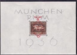 ALLEMAGNE EMPIRE:1936 BLOC N°7** TB SIGNE CALVES COTE 240E - Unused Stamps
